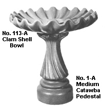 Medium Catawba Pedestal