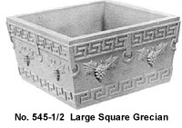 Large Square Grecian