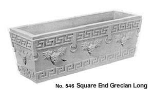Square End Grecian, Long